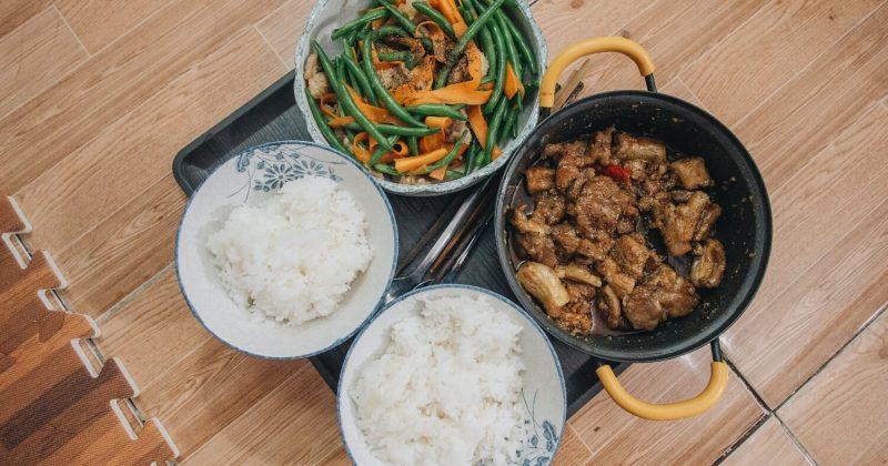 Rijstkoker voor rijst koken, perfectie!